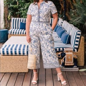 Anthropologie Gal Meets Glam Darla Jumpsuit